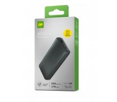 GP Batteries Powerbank T20B, 20000 mAh, 65W, grå