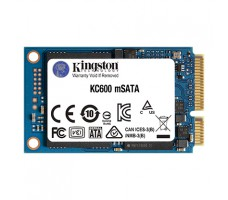Kingston KC600 mSATA SSD, 256GB