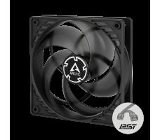 Arctic Cooling P12 PWM PST, 120mm, svart/transparent