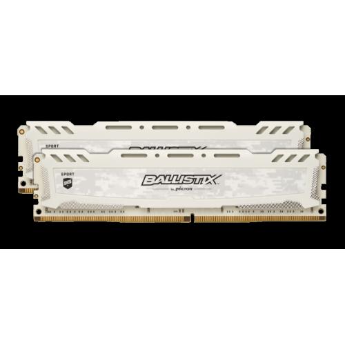 Crucial Ballistix Sport LT hvit 16GB, 2 x 8GB