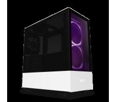 NZXT H510 Elite, matt hvit/svart