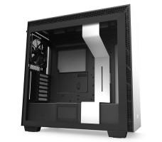 NZXT H710, matt hvit/svart