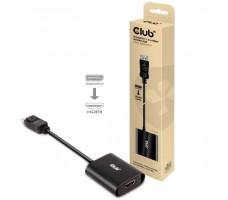 Club3D DisplayPort 1.4 til HDMI 2.1 4K120Hz HDR aktiv adapterplugg