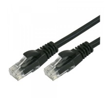 Nettverkskabel, Cat 6, 50m, svart