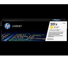 HP Toner 201X, gul, 2300 sider