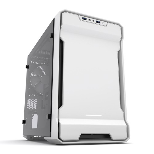 Phanteks Enthoo Evolv ITX, hvit med vindu