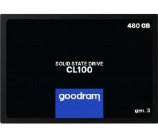 Goodram CL100 G3 SATA SSD, 480GB