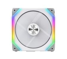 Lian Li UNI Fan SL120 RGB PWM, 120mm, hvit