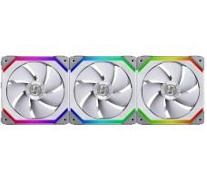 Lian Li UNI Fan SL120 RGB PWM, 120mm, 3-pk med kontroller, hvit