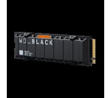 WD_BLACK™ SN850 NVMe SSD, 2TB, med kjøleribbe