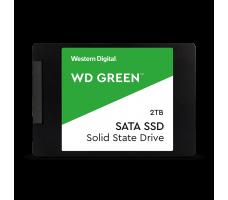 WD Green SATA SSD, 2TB