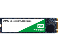 WD Green M.2 SATA SSD, 240GB