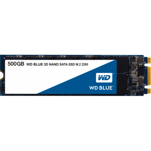 WD Blue M.2 SATA SSD, 500GB