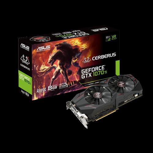 Asus GeForce GTX 1070 Ti Cerberus