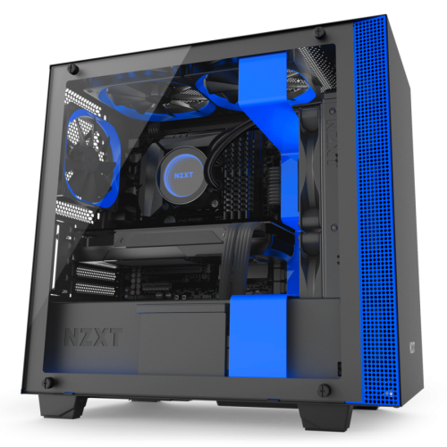 NZXT H400i (Matte Black/Blue)