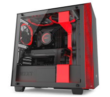 NZXT H400i (Matte Black/Red)