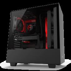NZXT H500 (Matte Black/Red)